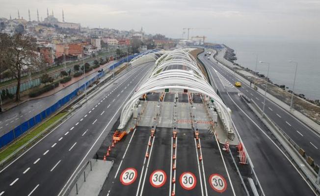 1 milyon araç Avrasya Tüneli'ni kullandı