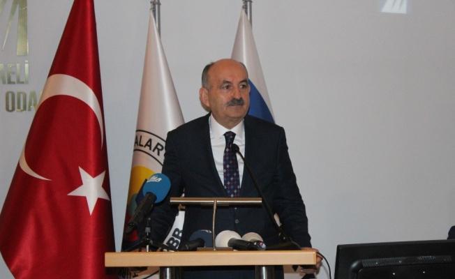 """Bakan Müezzinoğlu: """"İşsizliği yüzde 9,5'e indirmeyi hedefliyoruz"""""""