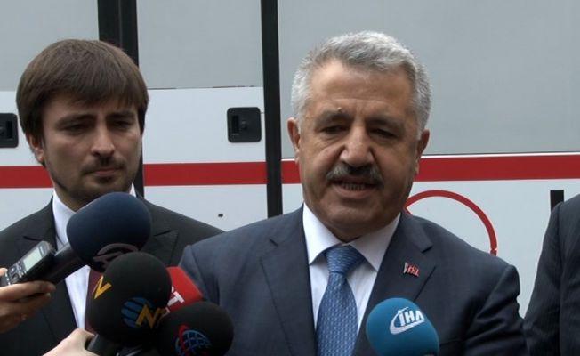 """Bakan Arslan: """"Projeden hiç kimsenin çekilmesi söz konusu değil"""""""