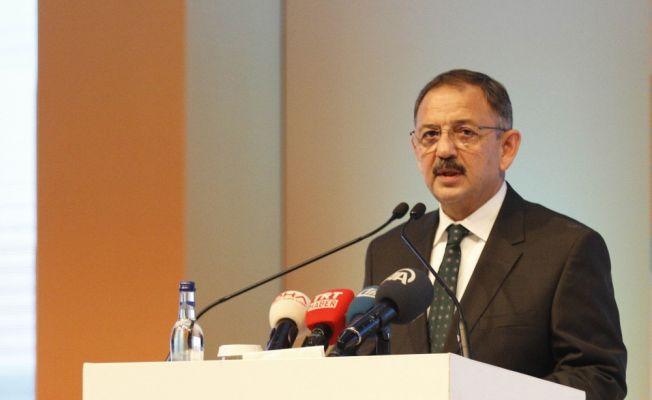 """Bakan Özhaseki: """"Kentsel dönüşüm çalışmaları hızlanmalı"""""""