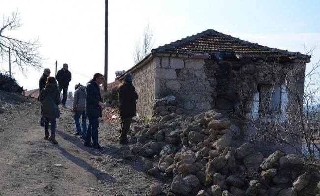 Çanakkale Ayvacık'ta binalar bu yüzden yıkıldı