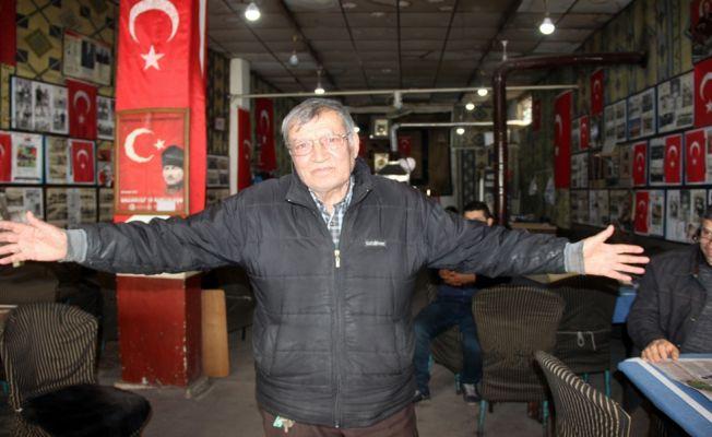Gaziantepli eski futbolcu anılarını yaşatıyor