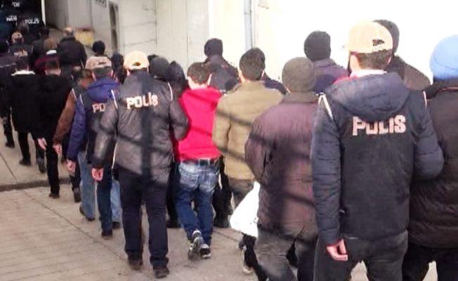 54 kişiye FETÖ operasyonunda gözaltı