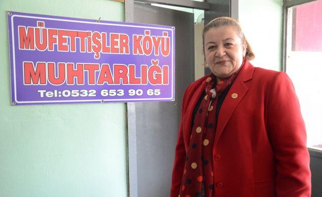 Zonguldak'ın tek kadın muhtarı