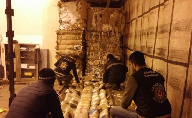 Tırda 298 kilo uyuşturucu ele geçirildi