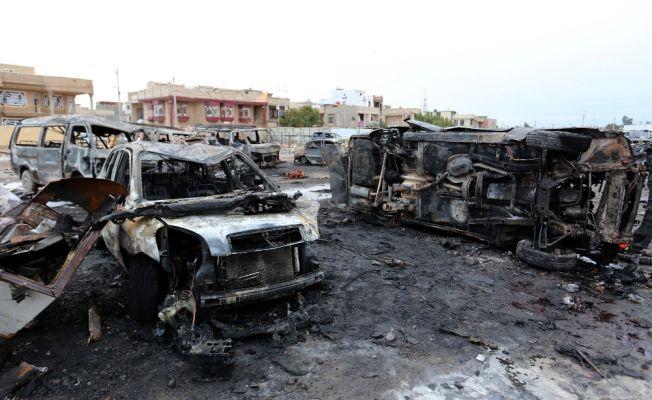 Araba pazarında bombalı araçlı saldırı: 52 ölü