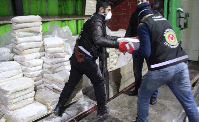 Gürbulak Sınır Kapısı'nda 600 kilo eroin ele geçirildi