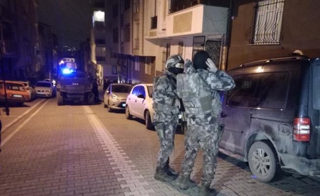 İstanbul'da uyuşturucu operasyonları sürüyor