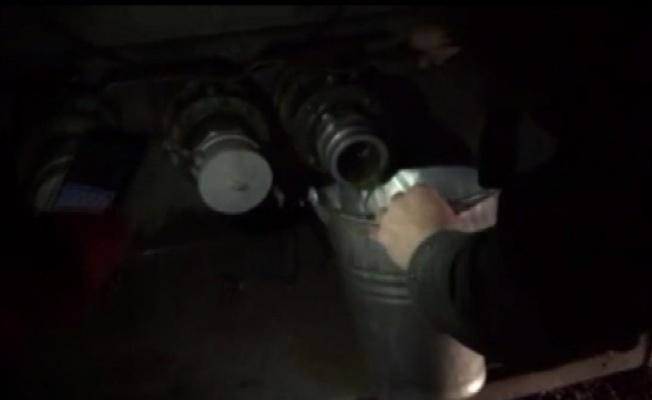 Tankerde 26 bin litre kaçak akaryakıt ele geçirildi