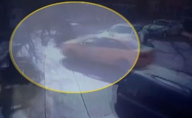 Güngören'de otomobille motosiklet çarpıştı