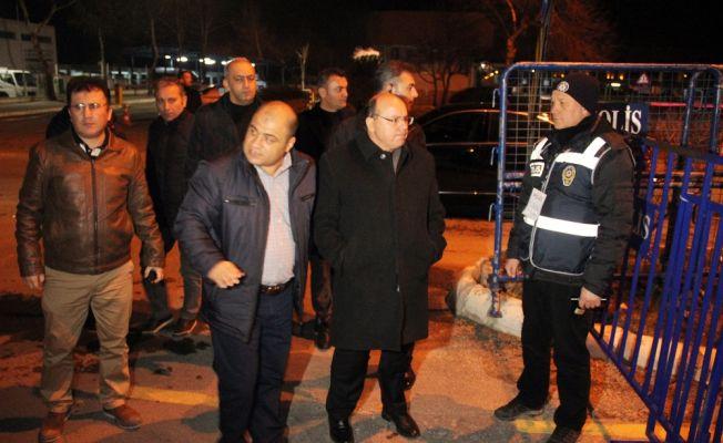 Muğla Menteşe'de geniş güvenlik önlemleri alındı