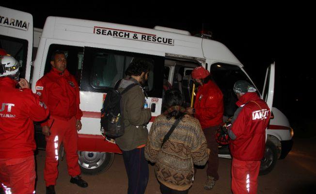 Fethiye'de ormanda kaybolan öğrenciler bulundu
