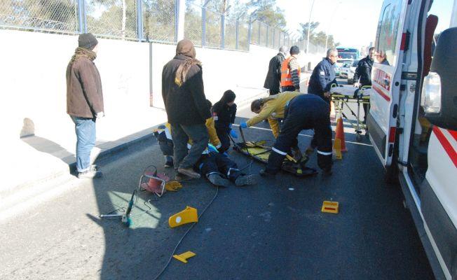 Otomobildeki korniş az daha öldürüyordu