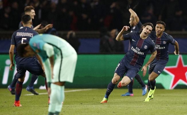 PSG'den Barcelona'ya 4 gol