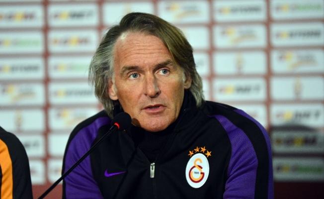"""Riekerink: """"Galatasaray'da hedef şampiyonluk"""""""