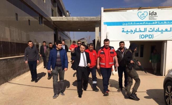 Bakanlık Azez ve Çobanbey mevkine hastane yapıyor