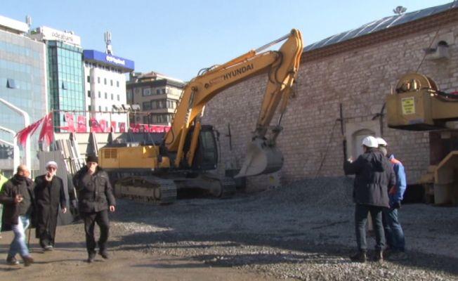 Taksim Meydanı'na yapılacak caminin temeli atıldı
