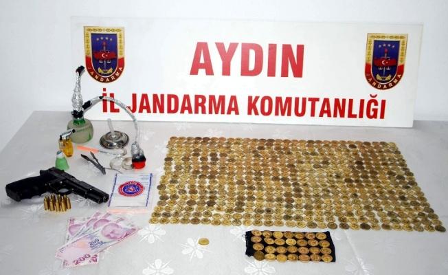 Aydın'da 536 adet sahte alını satacaklardı