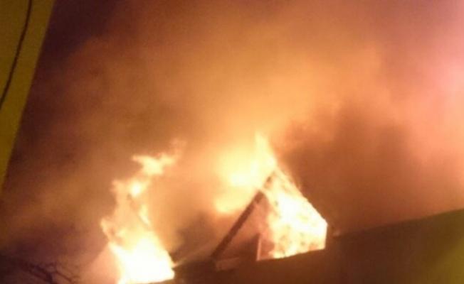 Trabzon'da apartman dairesinde yangın: 1 ölü