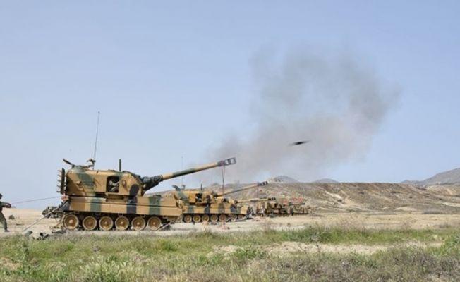 Afrin ve Azez'deki YPG mevzileri vuruldu
