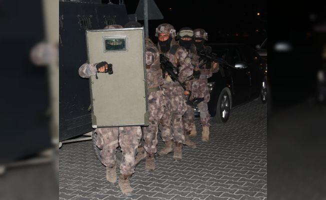 2 bin 500 polisle 5 ilde uyuşturucu operasyonu düzenlendi