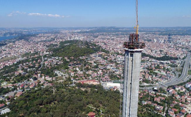 Çamlıca Kulesi bittiğinde 369 metre yüksekliğe sahip olacak