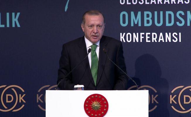 """Erdoğan: """"Vanayı kapattığımız zaman o iş de biter"""""""