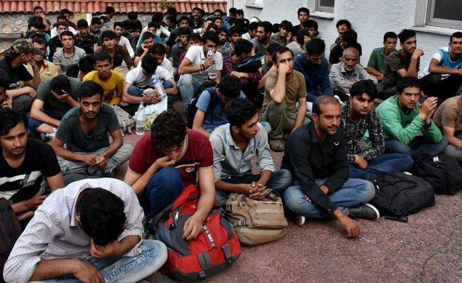 Erzurum'da 120 mülteci yakalandı