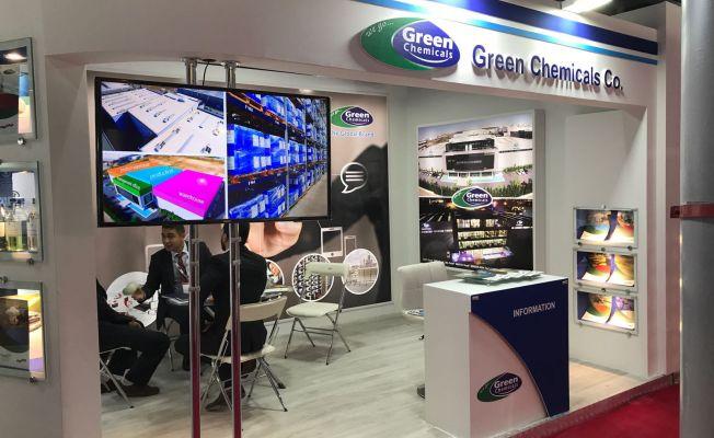 GREEN Chemicals, Tahran'da Su Şartlandırma Teknolojileri Fuarı'ındaydı