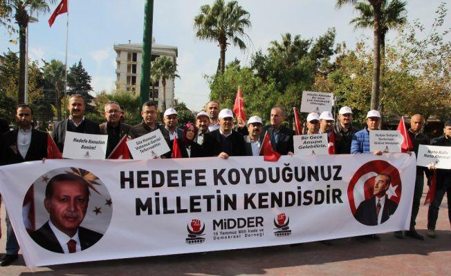 Hatay'da 'NATO' protestosu