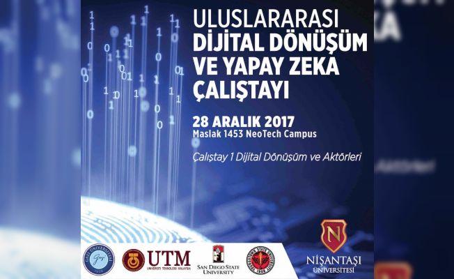 Dijital Dönüşüm ve Yapay Zeka Çalıştayı İstanbul'da
