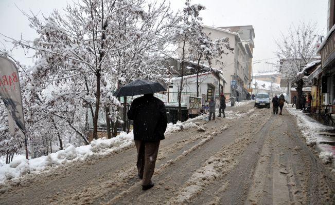Tunceli'de 242 köy yolu kapandı