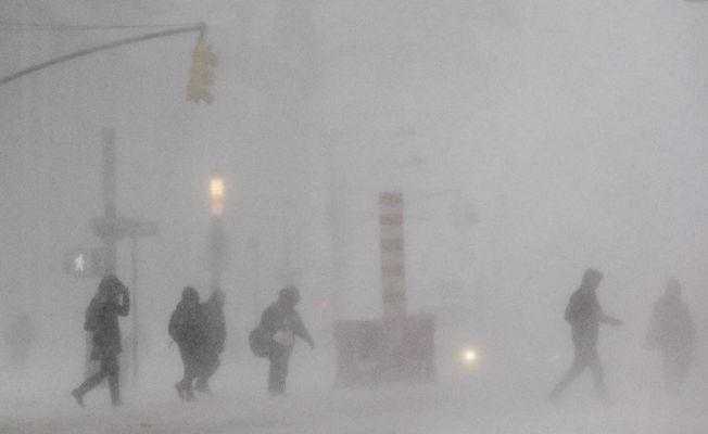 ABD'de soğuk hava bombası nedeniyle 17 kişi öldü