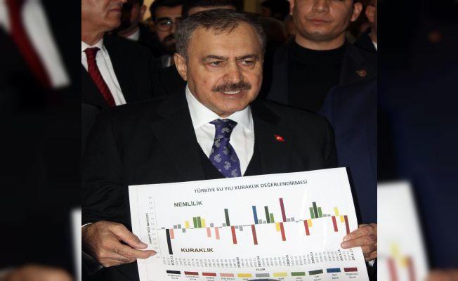 """Bakan Eroğlu: """"Şehirlerimizde su sıkıntısı çektirmeyeceğiz"""