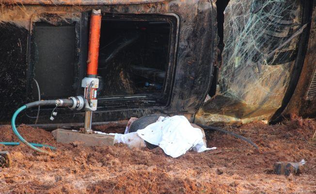 Şanlıurfa'da feci trafik kazası: 1 ölü, 4 yaralı