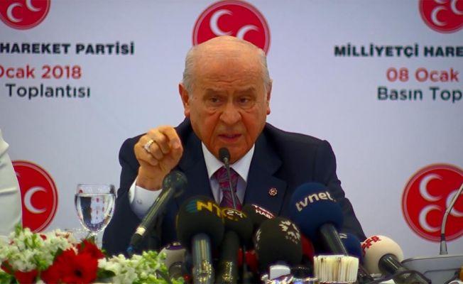 MHP aday göstermeyecek, 2019'da Erdoğan'ı destekleyecek