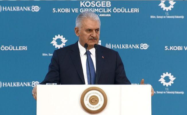 Başbakan Yıldırım'dan KOBİ'lere destek müjdesi