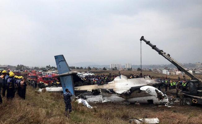 Nepal'deki uçak kazasında bilanço 49'a yükseldi