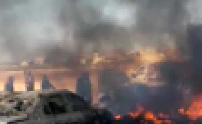 Şam'da pazar yerine roketli saldırı: 29 ölü, 32 yaralı