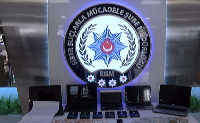 Siber suçlar polisinden milyonluk dolandırıcılık operasyonu