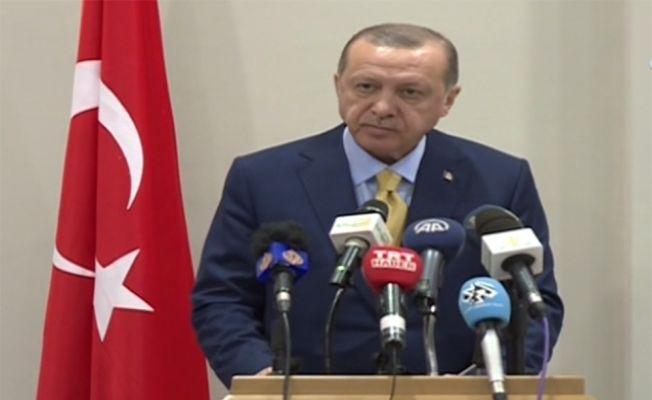 """Erdoğan: """"128 ülke Amerika'nın karşısında dik durdu"""""""