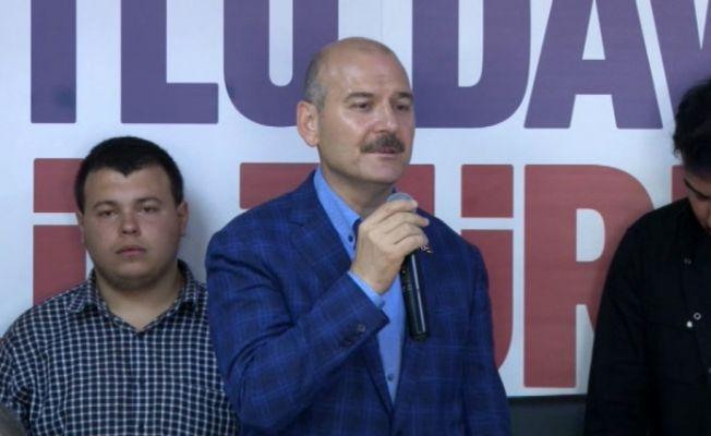 """Bakan Soylu'dan CHP'ye """"HDP'ye destek"""" eleştiri"""
