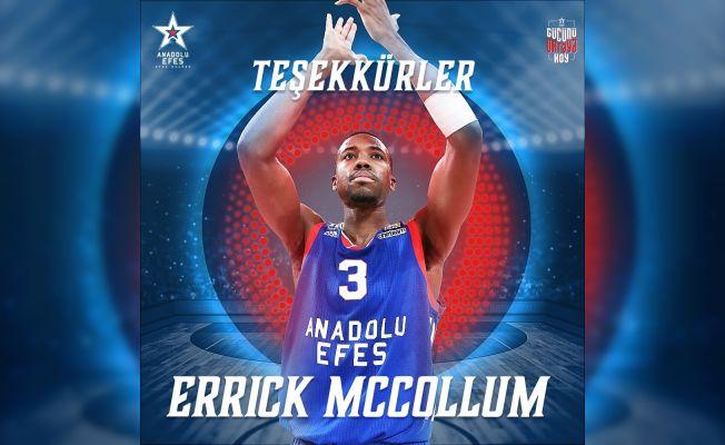 Errick McCollum ile yolları ayrıldı