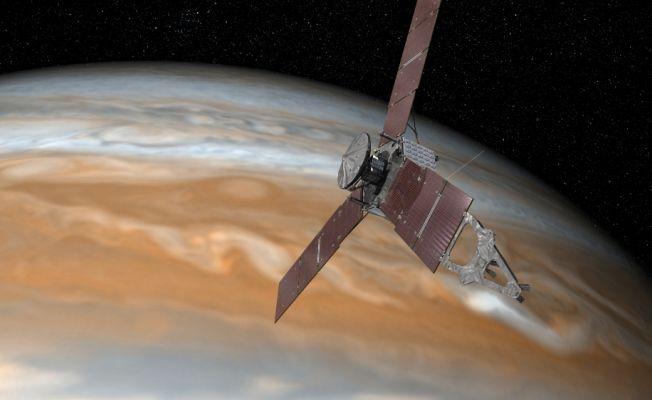 NASA Juno'nun Jupiter görevini uzatıyor