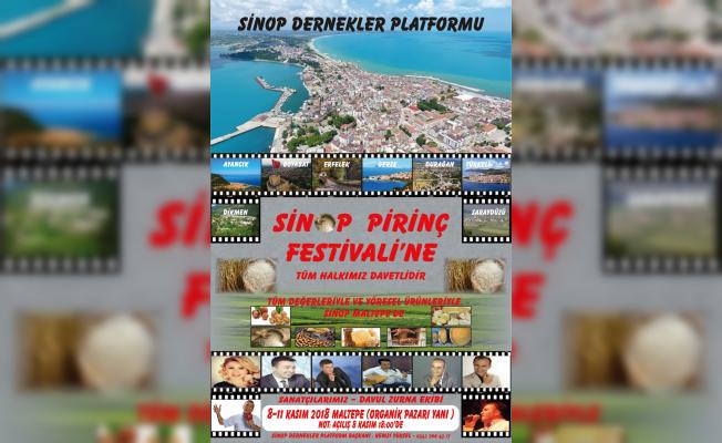 Sinop Pirinç Festivali 2018 başlıyor