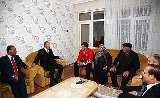 Cumhurbaşkanı Erdoğan Rıza Kayaalp'i ziyaret etti