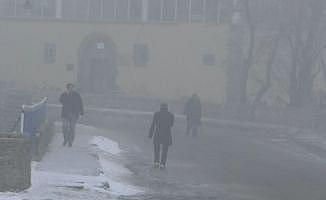 Kars'ta hava sıcaklığı gece eksi 15'i gördü
