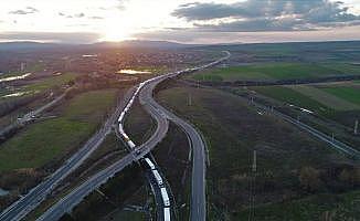 Türkiye ve Bulgaristan'da kilometrelerce tır kuyrukları oluştu