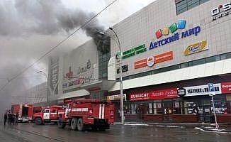 Rusya'daki yangında ölü sayısı 53'e yükseldi