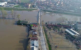 Tunca ve Meriç Nehirlerinde debi düşüşü devam ediyor